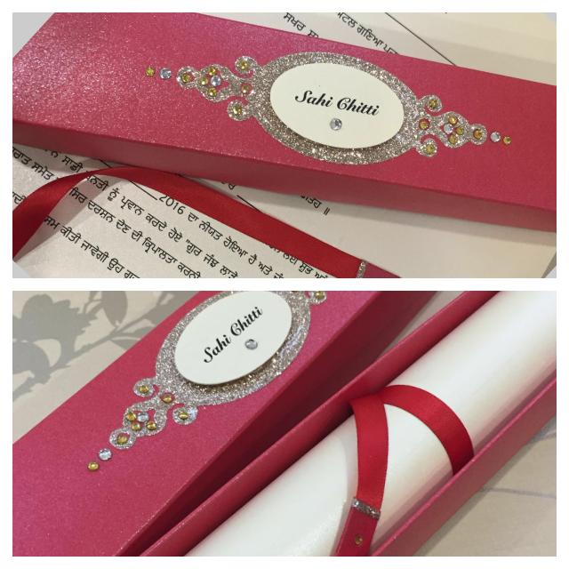 IMG_1841 Sikh Wedding Invitations At Sijara Designs Wedding Pinterest