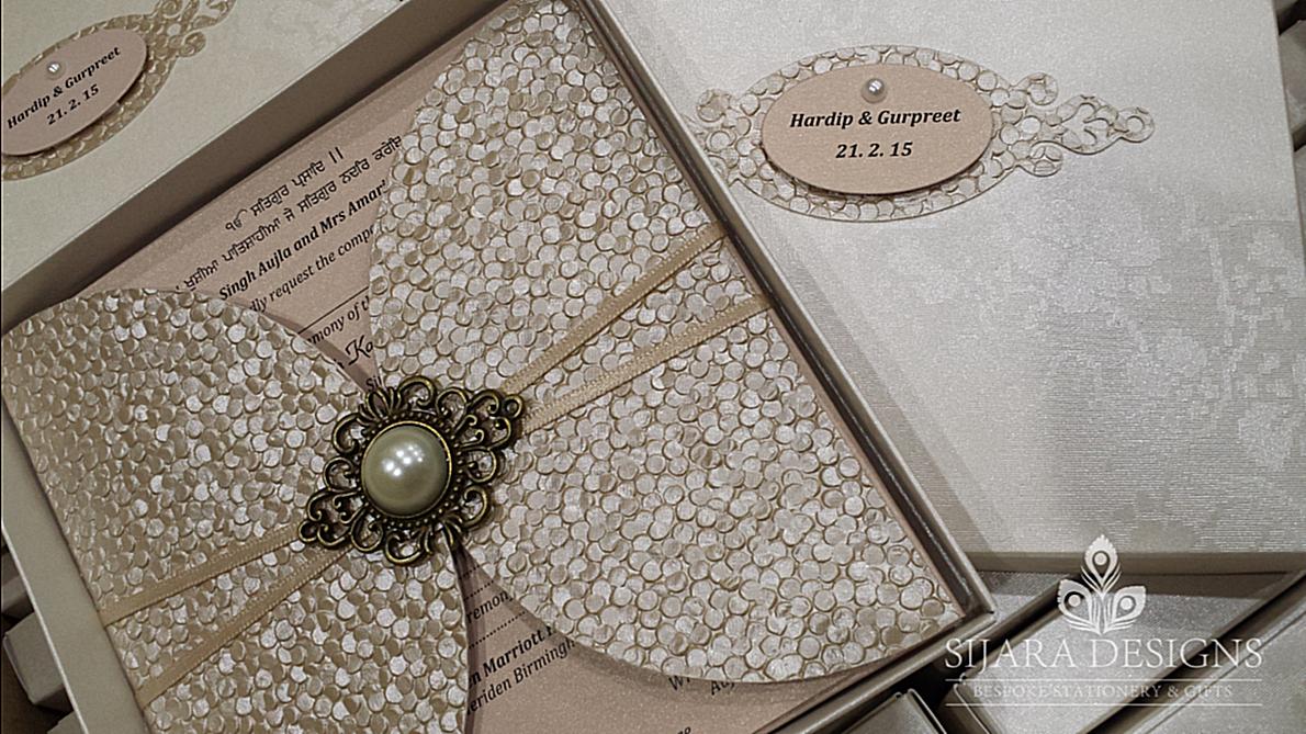 Hardeep-concentrate Sikh Wedding Invitations At Sijara Designs Wedding Pinterest